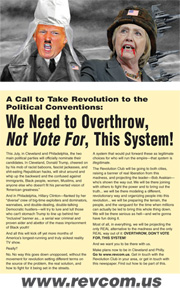 Revolution #445, June 27, 2016 - back page