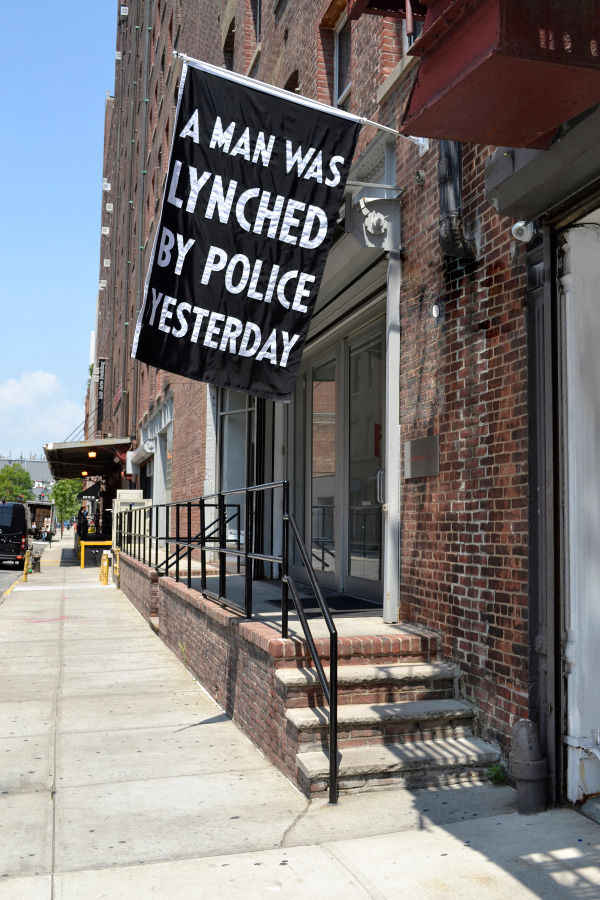 A Man Was Lynched by Police Yesterday, by Dread Scott