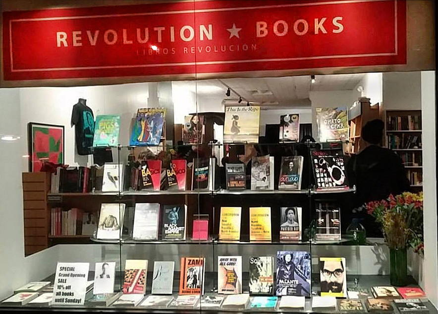 Revolution Books window