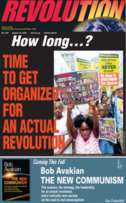 Revolution #453, August 22, 2016 - front page