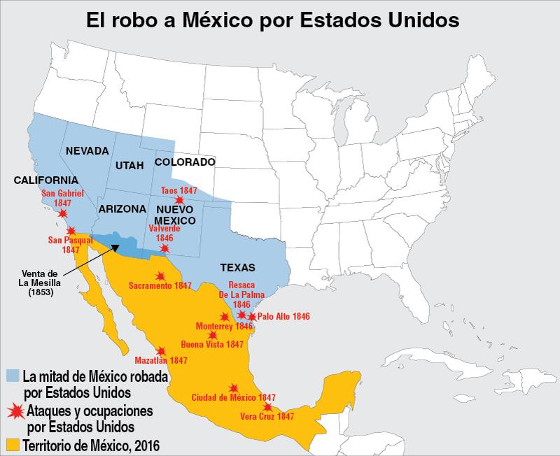Crimen Yanqui Caso  84 La guerra de Estados Unidos  Mxico de