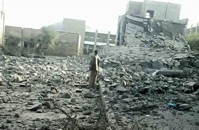 At least 174 schools have been destroyed in Yemen by Saudi bombings.