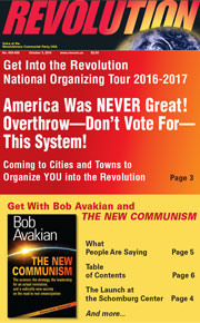Revolution #459, October 3, 2016 - front page