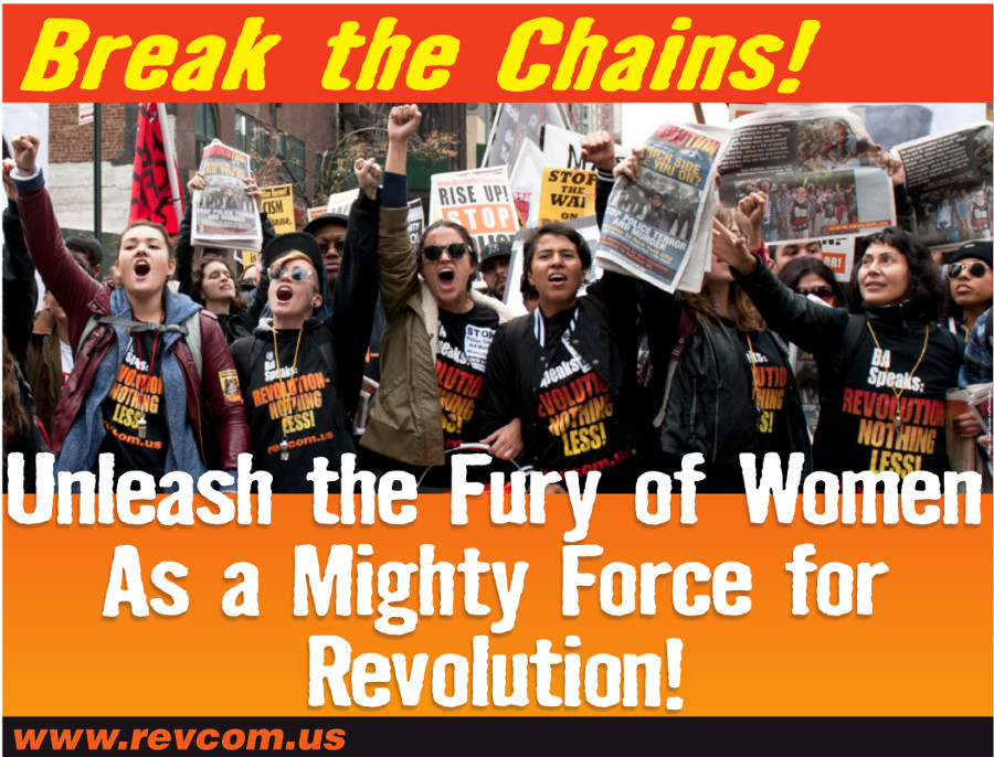 Break the Chains! Unleash the Fury of Women as a Mighty Force for Revolution