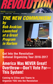 Revolution #461, October 17, 2016 - front page