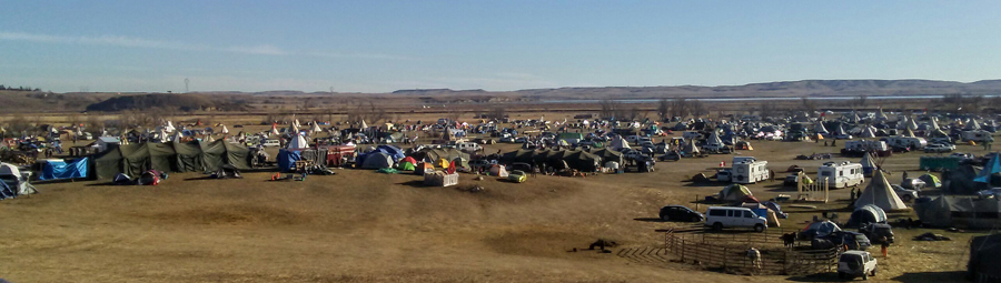Standing Rock encampment 11/5/2016