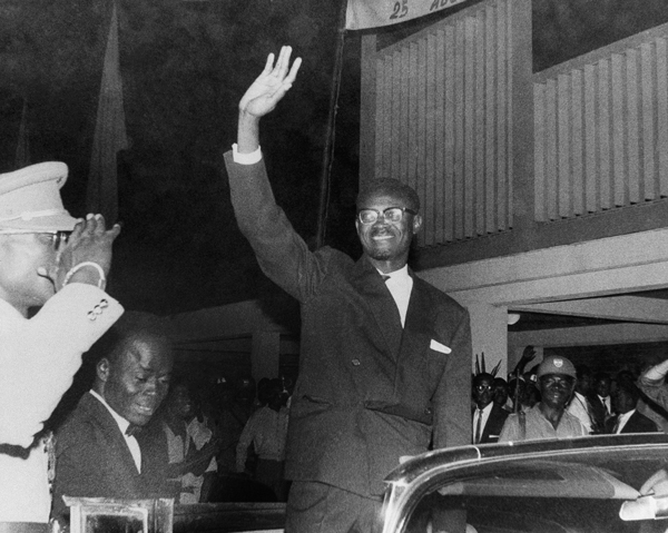 President Patrice Lumumba waves to crowds in Leopoldville, Congo, in August 1960. Lumumba was a nationalist leader in newly-independent Congo, a country in central Africa. Photo: AP