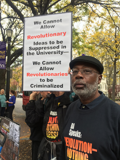 Carl Dix speaking at CCNY, November 3