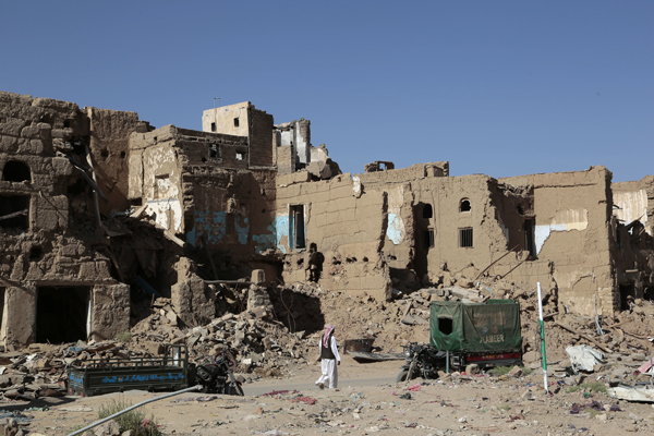 The infrastructure of life in and around Saada, Yemen has been devastated from U.S.-backed airstrikes by Saudi Arabia
