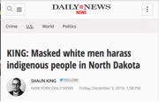 New York Daily News column by Shaun King