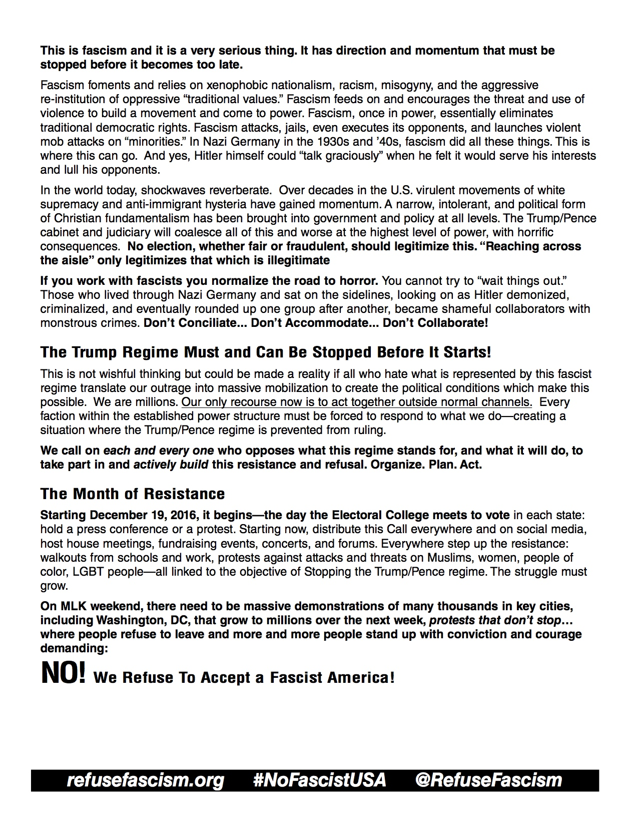 Revolution 471 december 26 2016 download jpgs of the call to action front back fandeluxe Images