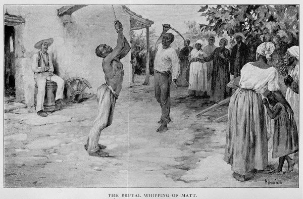"the ""whipping machine"" was both a literal machine that whipped Black slaves to force them to pick more and more cotton, and also a metaphor for the unceasing and inhuman torture inflicted every hour, every day, under slavery."