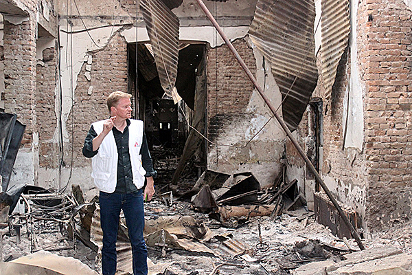October 2015, the U.S. bombed a Doctors Without Borders hospital in Kunduz, Afghanistan, killing 42 people including 14 medical staff. (Photo: AP)