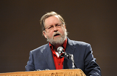 Prof. PZ Myers spoke about Trump's assault on science