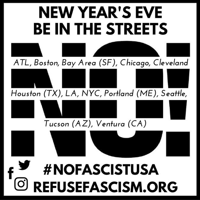 New Year's Eve - nationwide - be in the streets