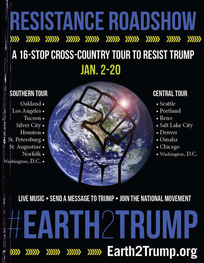 Earth2Trump Resistance Roadshow
