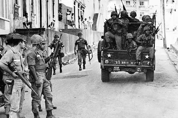 On April 28, 1965, the U.S. sent thousands of troops to invade the Dominican Republic in order to brutally crush the mass armed rebellion that arose on April 24.