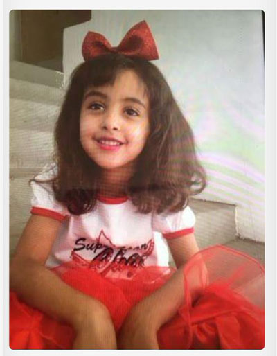 Nawar al-Awlaki, 8 years old, one of nine children under 13 who were killed in Trump's raid in Yemen, January 29, 2017.