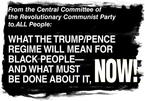 Statement from the Central Committee of the Revolutionary Communist Party to ALL People
