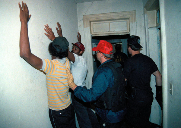 Raid in Washington, DC in 1989