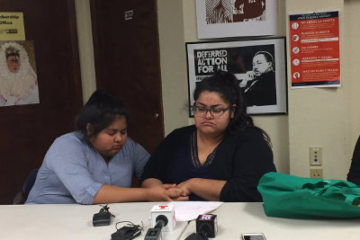 Daughters of Juan Carlos Fomperosa Garcia tell how their father was detained during ICE check-in.
