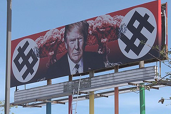 Billboard in Phoenix, Arizona