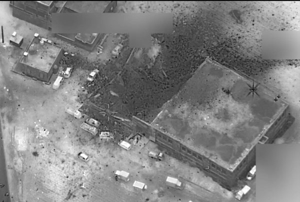Airstrike of a mosque in Syria