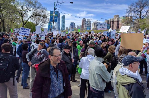 Marcha por la Ciencia, Chicago, 22 de abril