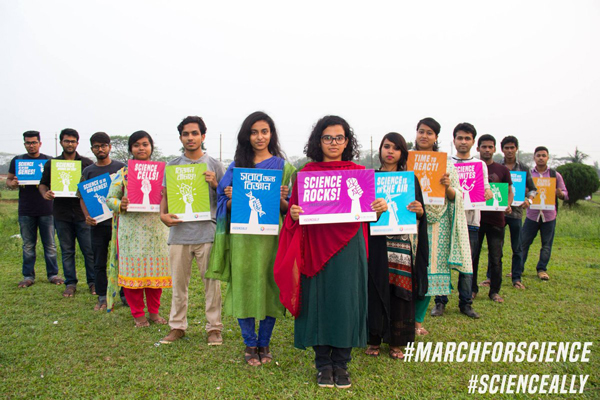 Bangladesh march for science