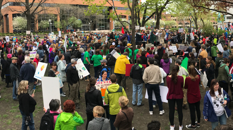 Rochester, NY Climate march