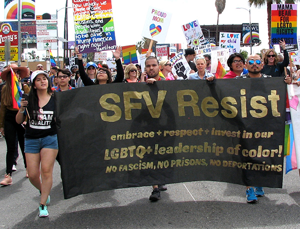 San Fernando Valley Resist