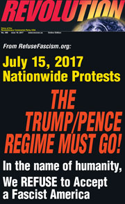 Revolution #496, June 19, 2017 -  front page