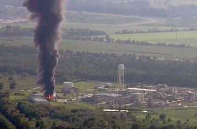 Second explosion at Arkema chemical plant