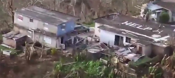 Hurricane Maria brought almost complete devastation and destruction to Puerto Rico's cities and countryside.