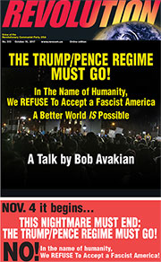 Revolution #513, October 16, 2017 - front page