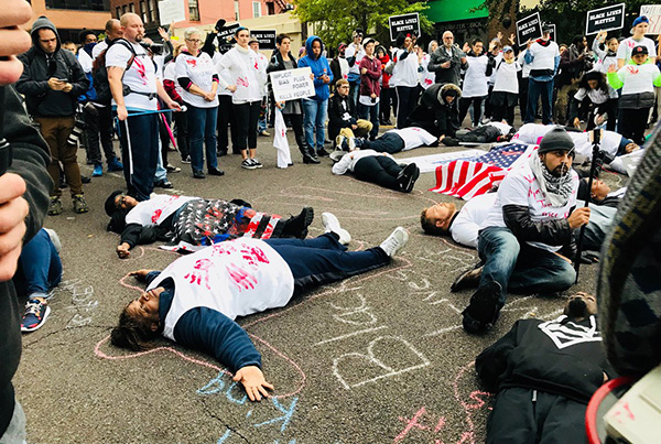 Die-in, October 21
