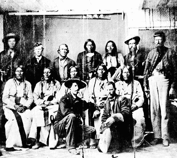 Peace Conference at Camp Weld