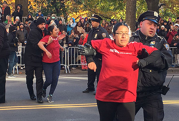 Disrupting the Thanksgiving Day Parade