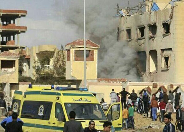 Mosque in Egypt bombed by Islamic fundamentalists