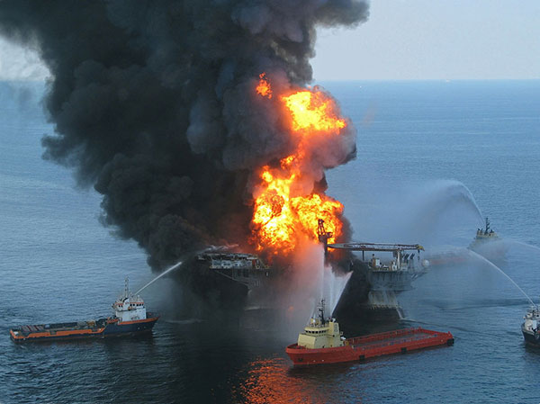 The deadly BP oil spill in the Gulf of Mexico
