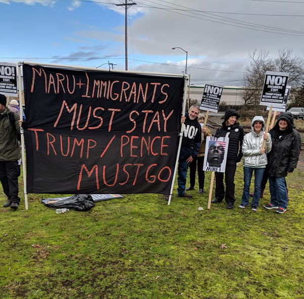 A People's Tribunal held at the Northwest Detention Center (NWDC) in Tacoma, Washington, February 4, 2018