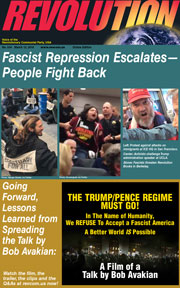 Revolution #534, March 12, 2018 - front page