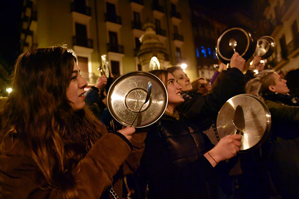 IWD Protest in Spain