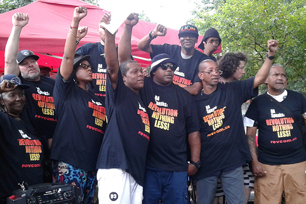 The people in NYC who stepped forward to put on Revolution--Nothing Less t-shirts.