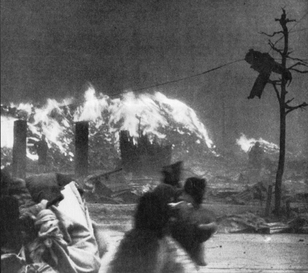 Firestorm over Hiroshima