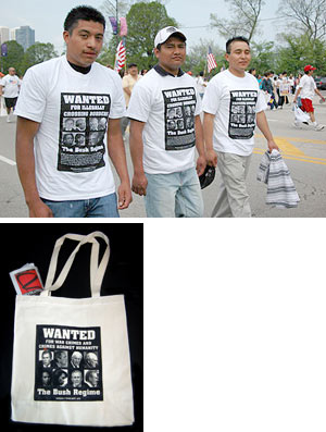 Wanted T-shirt and Tote Bag
