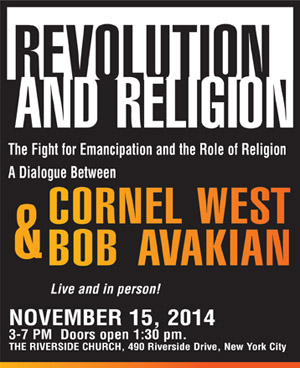 Revolution and Religion Dialogue between Cornel West and Bob Avakian