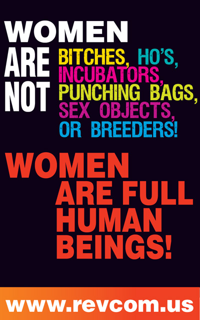Women are full human beings!