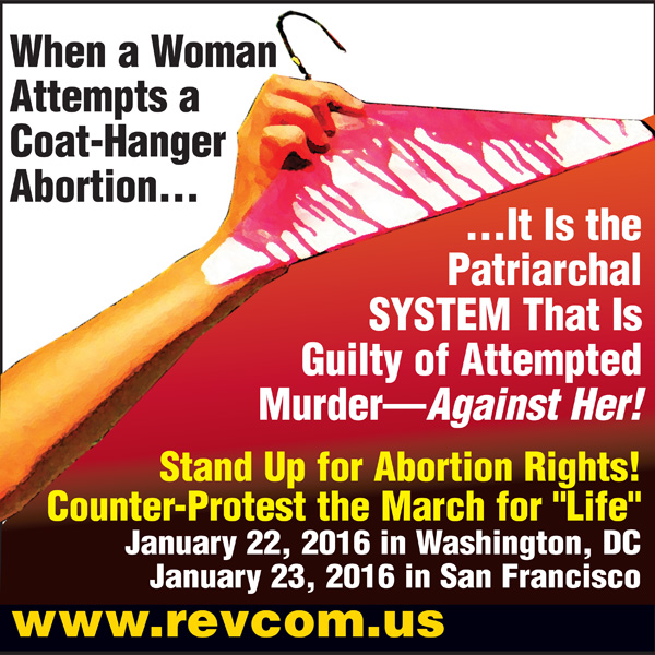 Stand up for abortion rights!