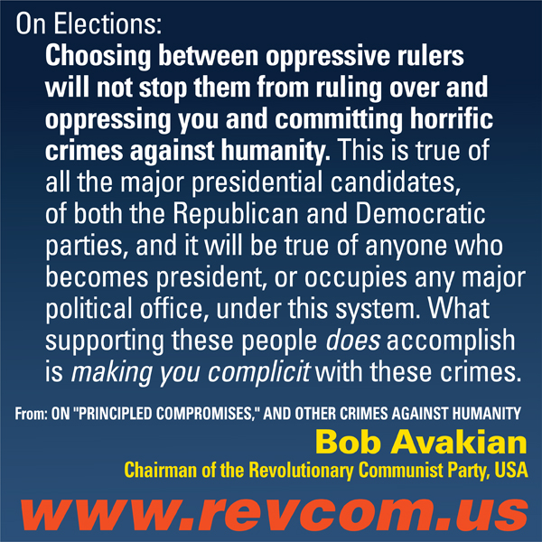 "Bob Avakian ""On Elections..."""